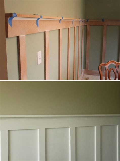 Wainscoting Molding by Diy Board And Batten Step By Step Tutorial A Less