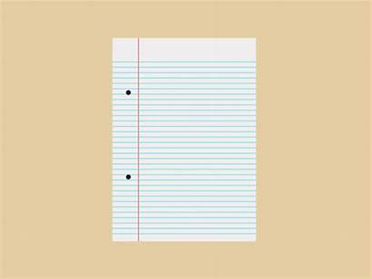 Animated Paper Notebook Clipart Giff Animation Cooper