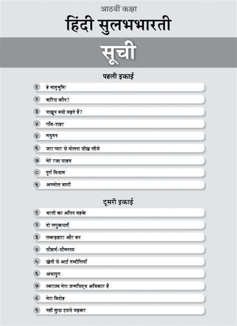 Buy Std. 8th Perfect Hindi Sulabhbharati Notes