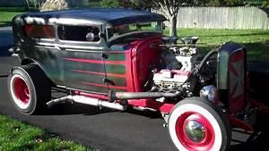 1931 Model A Sedan Hot Rod Rat Rod For Sale