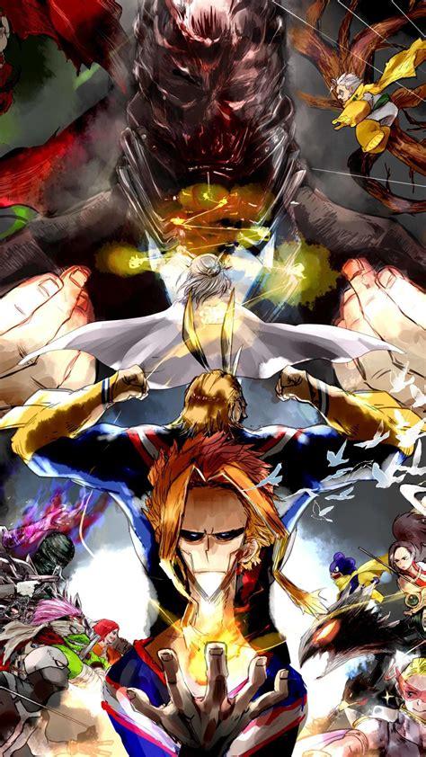 10 anime character aesthetic my academia wallpaper