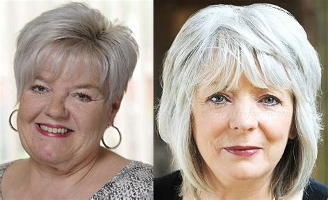 Latest 50 Hairstyles For Over 60 With Round Face