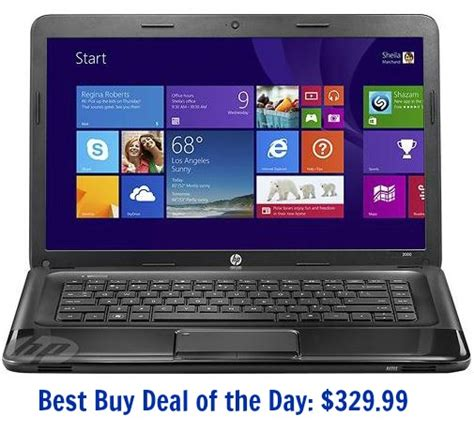 best buy deals of the day best buy deal of the day hp 15 6 in laptop 329 99