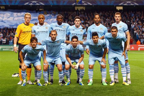 Manchester city brought to you by: The Magical Game of Football- The Top 5 football teams