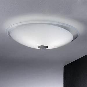 SQUARE Plafoniera Design Moderno vetro bianco argento wenghe AnteaLuce