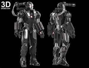 3D Printable Suit: Iron Man Mark I Armor War Machine 001 ...