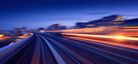 night highway beautiful background speed highway