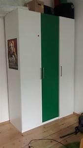 Schrank Weiß Ikea : ikea pax schrank wei gr n in karlsruhe ikea m bel kaufen und verkaufen ber private kleinanzeigen ~ Frokenaadalensverden.com Haus und Dekorationen