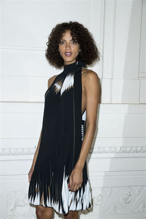 noemie lenoir jean paul gaultier front row paris fashion week