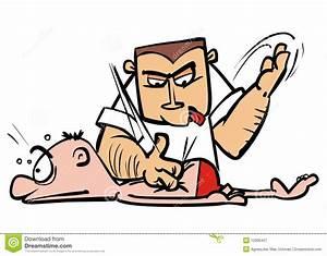 Back Massage Royalty Free Stock Photography - Image: 12996457