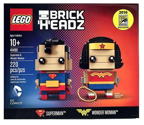 LEGO BrickHeadz Wonder Woman inédite - HelloBricks