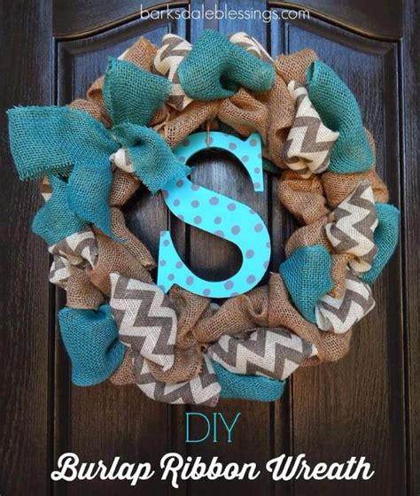 diy burlap wreath ideas   holiday  season