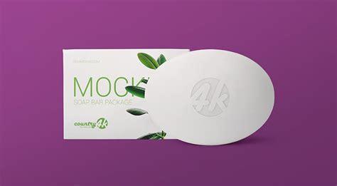 Retail soap bar packaging mockup. Free Soap Bar Package Mockup - FreeMockup.net
