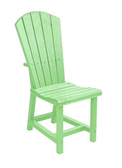 generations lime green adirondack dining side chair from