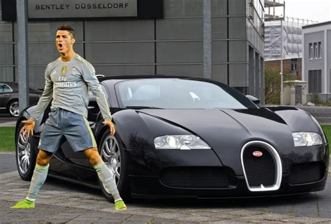 Find Out How Many Bugattis Ronaldo Could Buy