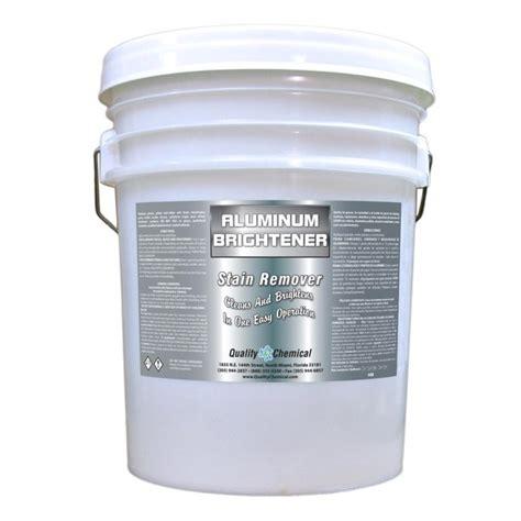 aluminum cleaner brightener restorer  gallon pail walmartcom walmartcom