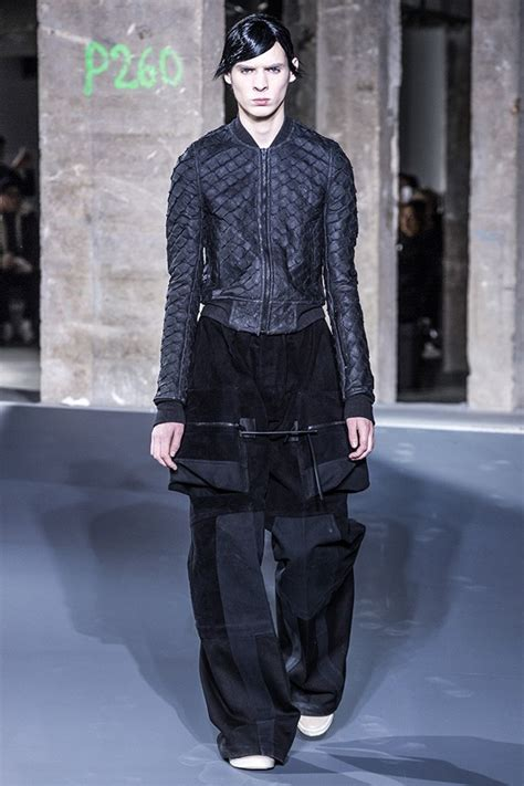 pfw rick owens menswear fall winter  collection