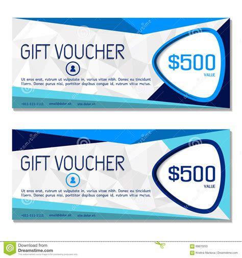 gift voucher coupon  voucher template  company