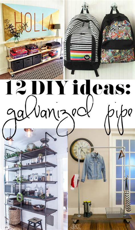 galvanized pipe projects for every room of the house