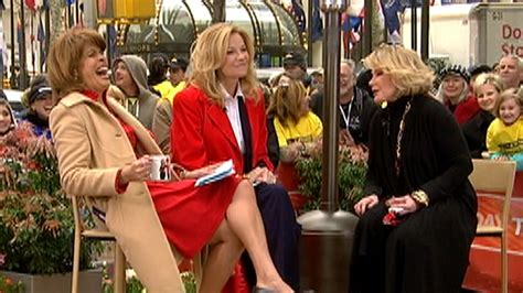 klg and hoda kathie lee gifford hoda remember joan rivers she never ever bored you today com
