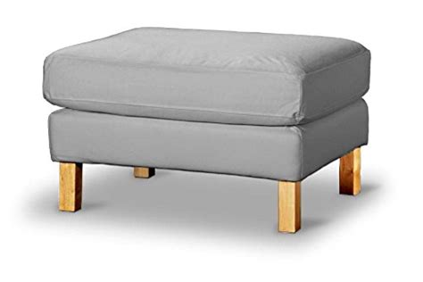 the karlstad footstool cover replacement is custom made