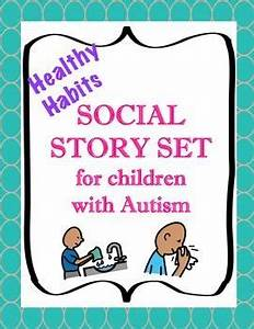 Social story set for children with autism healthy habits for Using the bathroom social story