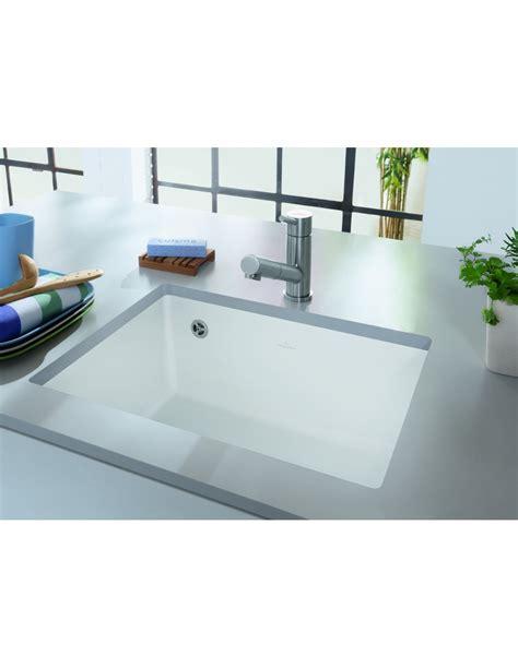 undermount ceramic kitchen sinks uk villeroy boch subway 60su single bowl undermount sink 331000 8721
