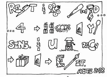 Acts Coloring 38 Bible Pentecost Church Lessons