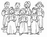 Choir Clipart Church Coloring Children Singing Clip Childrens Chorus Cliparts Colouring Clipartix Ministry Cartoon Choirs Worship Library Country Songs Join sketch template