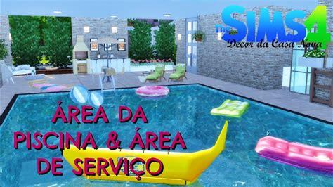 Poltrona Gonfiabile Piscina The Sims : Área Da Piscina E Serviço