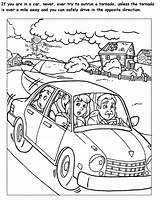 Tornado Coloring Pages Books Printable sketch template