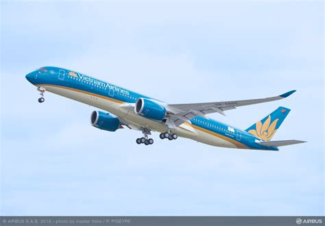 Vietnam Airlines receives its first Airbus A350 XWB via AerCap - Bangalore Aviation