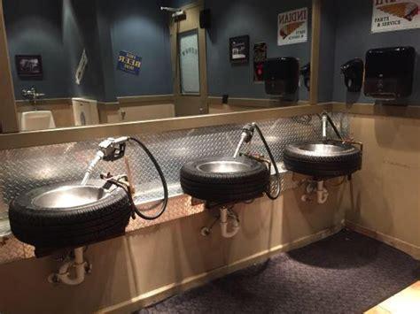 bathroom sinks  fords garage restaurant  dearborn