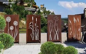 Edelstahl Sichtschutz Metall : sichtschutz ~ Orissabook.com Haus und Dekorationen