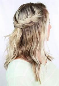 Coiffure Tresse Facile Cheveux Mi Long : tuto coiffure cheveux mi long et long en 9 id es faciles ~ Melissatoandfro.com Idées de Décoration