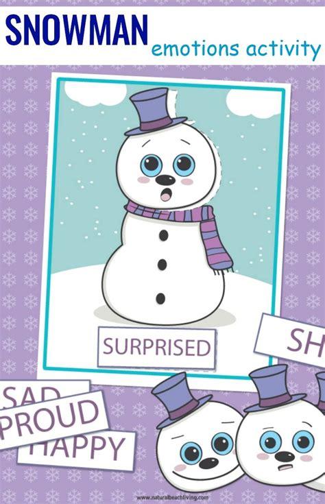 preschool emotions printables snowman activities 436   b1d2a641c3aa0f5f588888205b35790d