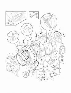 Frigidaire Atf8000fs1 Shell  Tub  Front