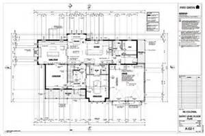 Free House Plan Designs Blueprints