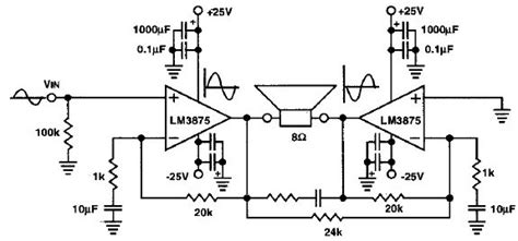 Circuit Wiring Solution Audio Power Amplifier