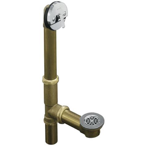 types of bath tub drains