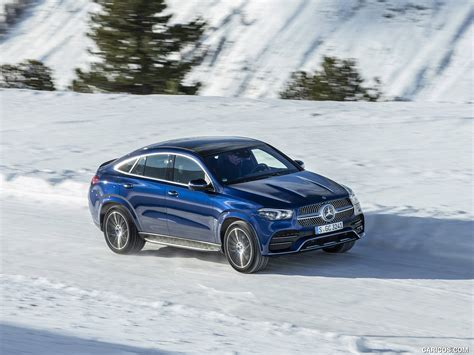 Gallery of 62 high resolution images and press release information. 2021 Mercedes-Benz GLE Coupe 400 d 4MATIC Coupe (Color: Brilliant Blue Metallic) - Front Three ...