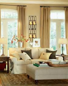 Home Decor Ideas Living Room Modern Warm Living Room Interior Decorating Ideas By Potterybarn