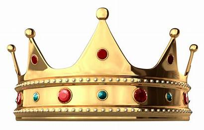Crown King Gold Clipart Diamonds Cartoon Clip