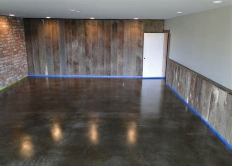 Bach Custom Coatings Portland OR Garage Basement Floors