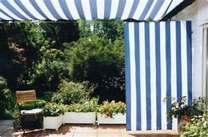 Segeltuch Für Balkon : sonnensegel 230 x 140 cm verschiedene farben blockstreifen ~ Markanthonyermac.com Haus und Dekorationen