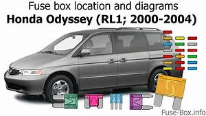 Fuse Box Location And Diagrams  Honda Odyssey  Rl1  2000