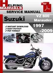 1997 Suzuki Marauder 800 Owners Manual