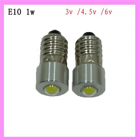 wholesale retail led flashlight replacement led bulb e10