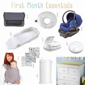 The 20 things you need for the first month home with a ...