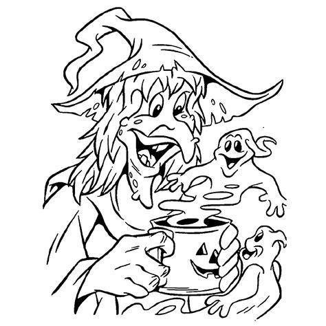 Kleurplaten Heksen by Leuk Voor Deze Heks Brouwt Een Giftig Drankje